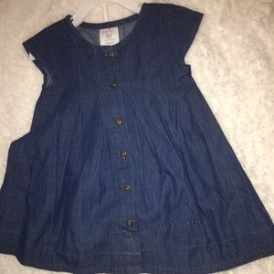 Other - Toddler denim dress set